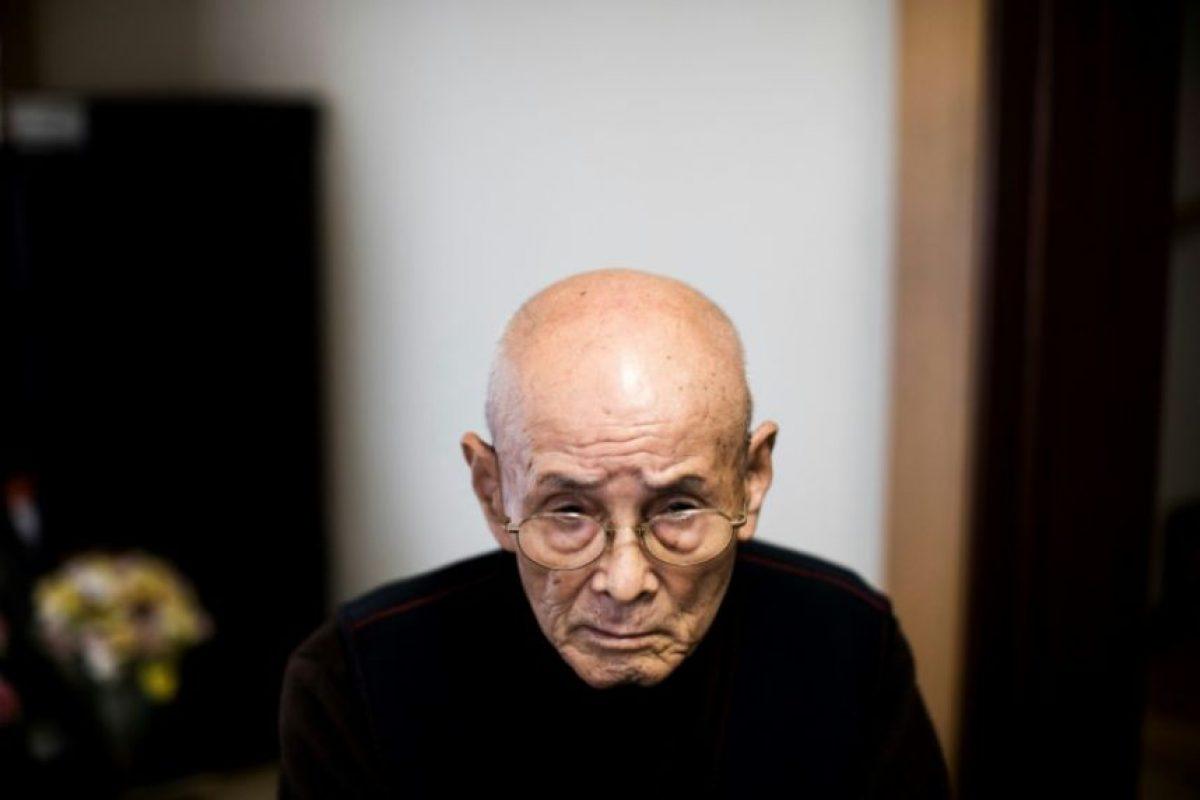 El veterano de guerra japonés Kuniyoshi Takimoto, mecánico militar durante el ataque a Pearl Harbor el 7 de diciembre de 1941, durante una entrevista a la AFP en su casa en Osaka, el 3 de diciembre de 2016 Foto:Behrouz Mehri/afp.com