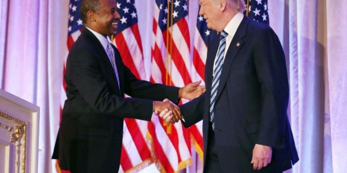 Trump designa a Carson en Vivienda, sigue la incógnita en el Departamento de Estado