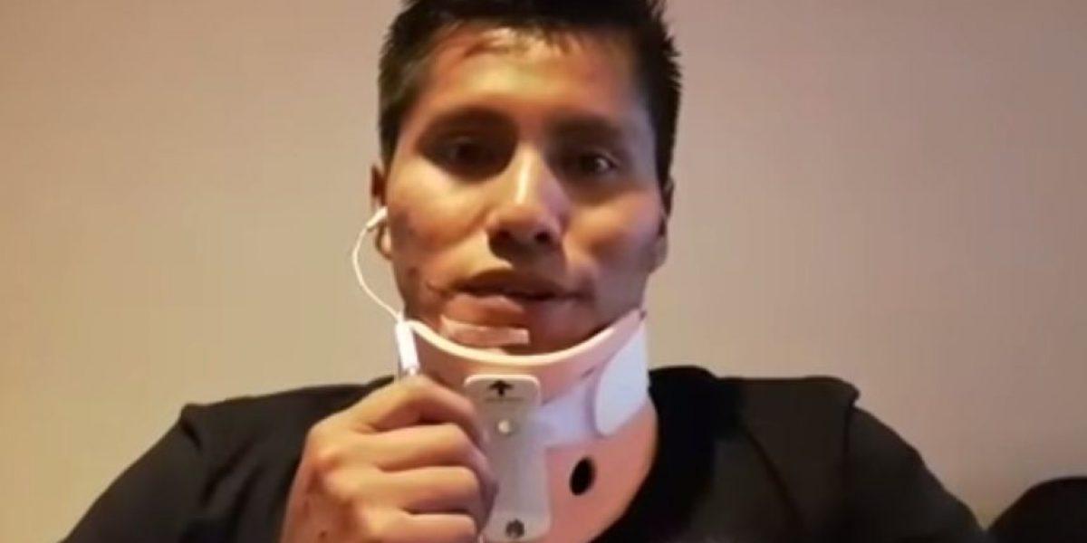 VIDEO. Sobreviviente del avión de Chapecoense habla tras ser dado de alta