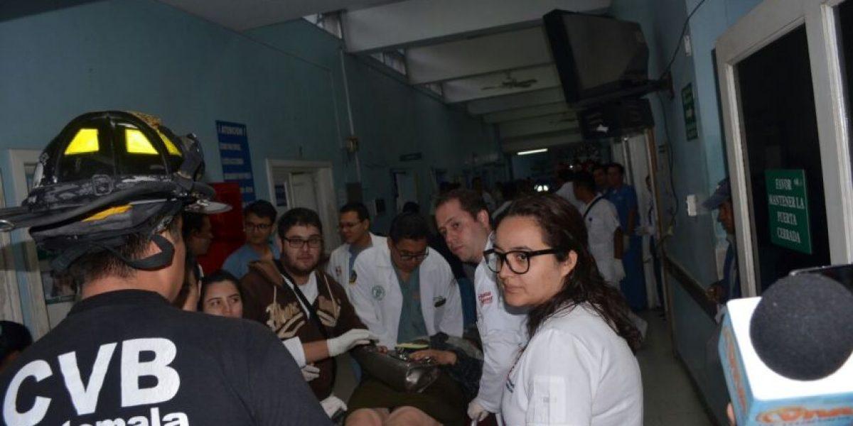 ¿Cuánto le costó al Hospital Roosevelt atender a los heridos del accidente de bus de Villa Canales?