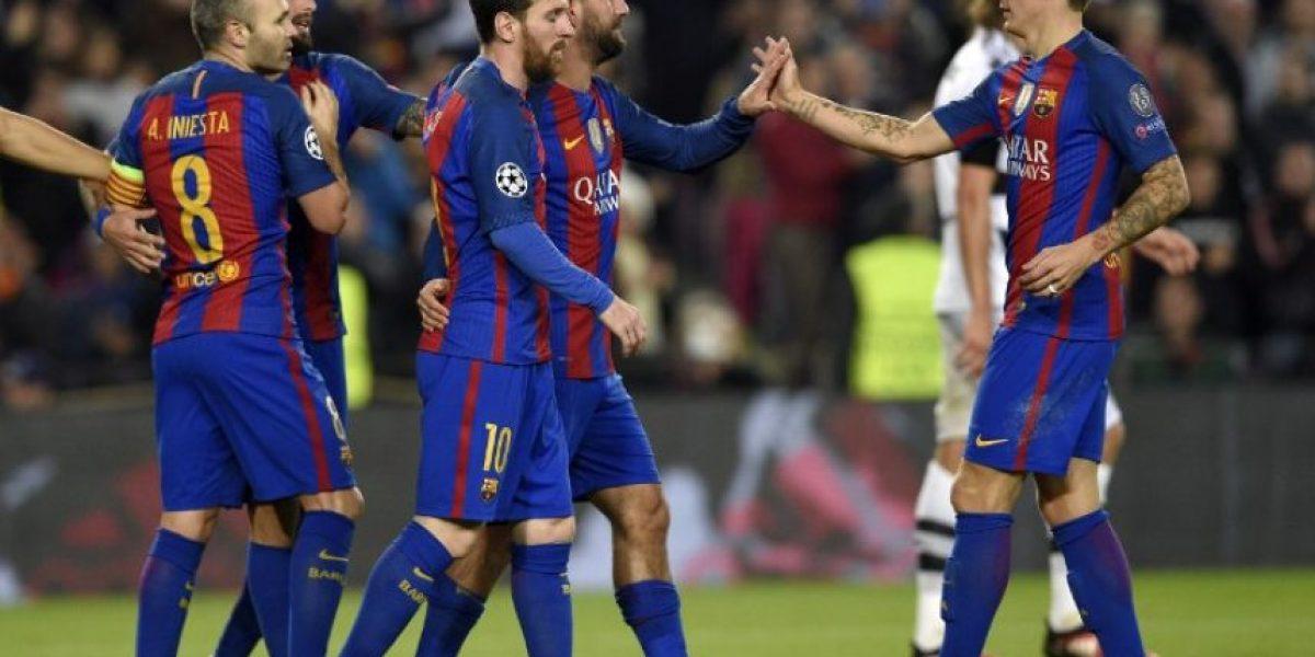 #Champions El Barça cumple el trámite y termina líder en su grupo