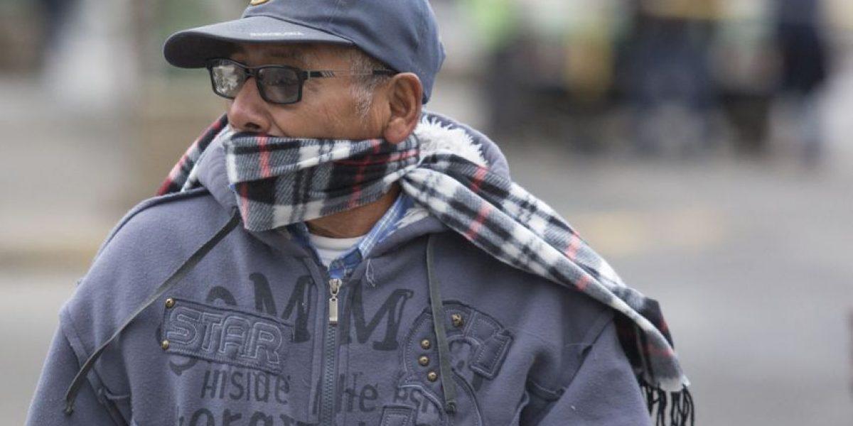 Por las bajas temperaturas, la Conred ha albergado a 22 personas durante las últimas 24 horas