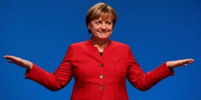 La canciller alemana Angela Merkel durante el congreso del partido de la Unión Cristiana Democrática el 6 de diciembre de 2016 en Essen Foto:Tobias Schwarz/afp.com