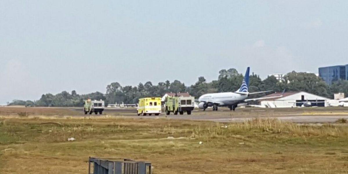 Aerolínea aclara el motivo del aterrizaje de su avión en Guatemala
