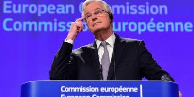Michel Barnier, negociador de la Comisión Europea para el Brexit, concede una rueda de prensa en Bruselas el 6 de diciembre de 2016 Foto:Emmanuel Dunand/afp.com