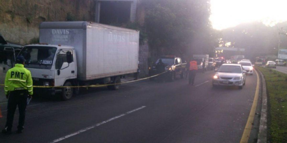 Piloto de camión muere baleado cuando pretendían asaltarlo