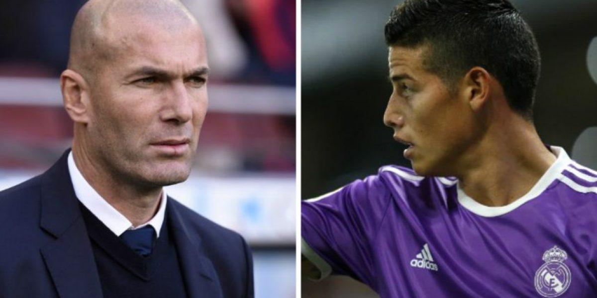 Zidane admite que la situación de James