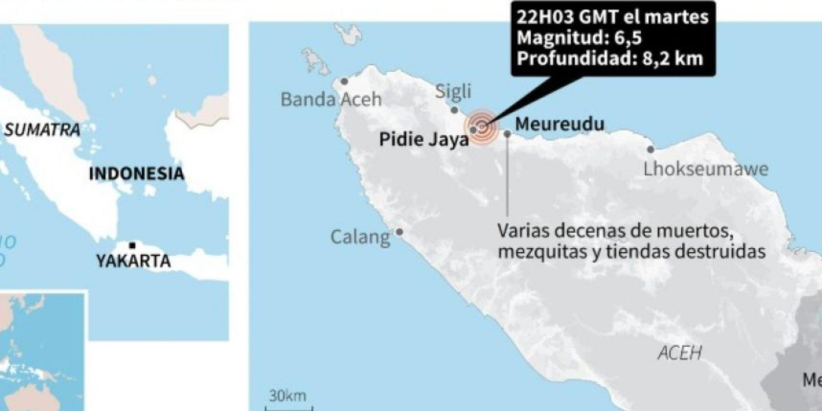 Terremoto en Indonesia Foto:AFP , Laurence CHU /afp.com