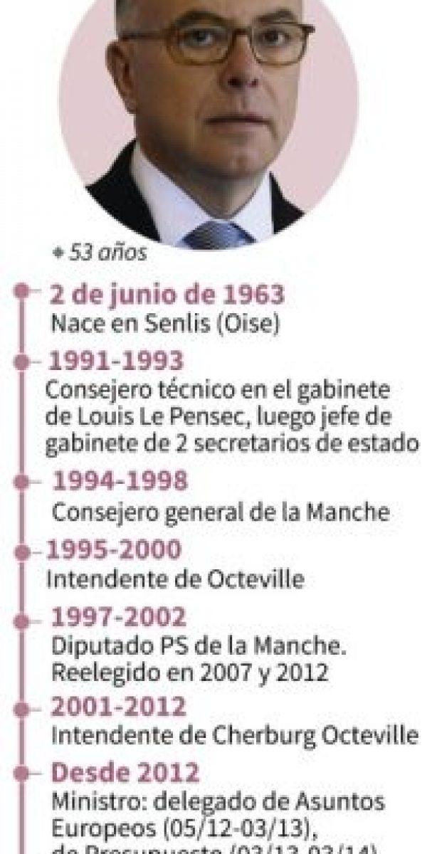 Biografía de Bernard Cazeneuve, nombrado primer ministro de Francia por François Hollande Foto:Vincent LEFAI, Paz PIZARRO, Valentina BRESCHI, Marimé BRUNENGO/afp.com