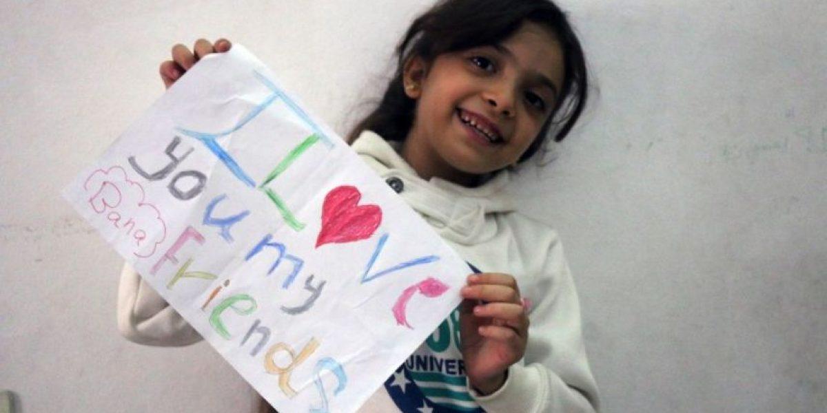Bana, la niña siria de 7 años que tuitea desde su barrio bombardeado en Alepo