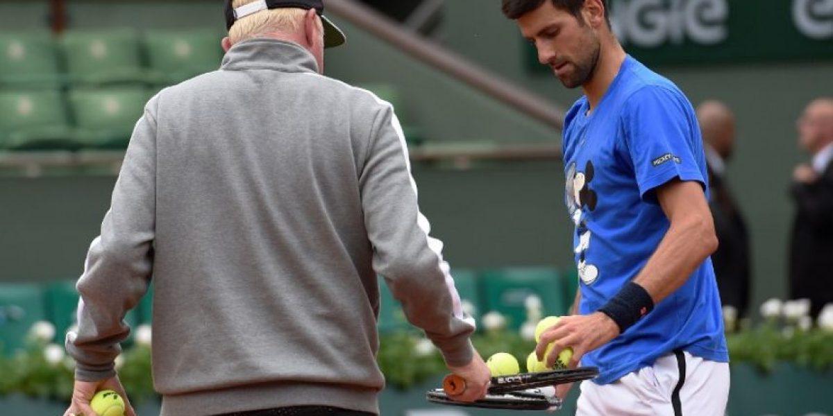 Novak Djokovic rompe con Boris Becker tras 3 temporadas y 6 majors
