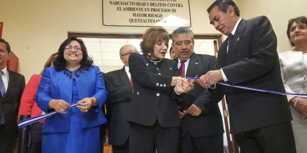 Los procesos de la CICIG ya tienen Juzgado y Tribunal de Mayor Riesgo en Quetzaltenango