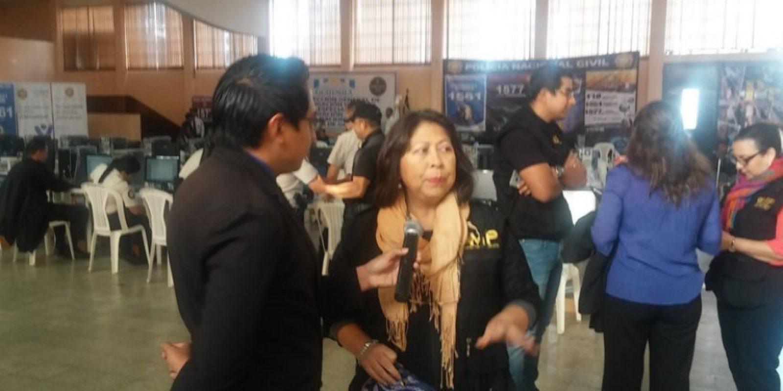 Secretaria general del MP Mayra Veliz Foto:MP