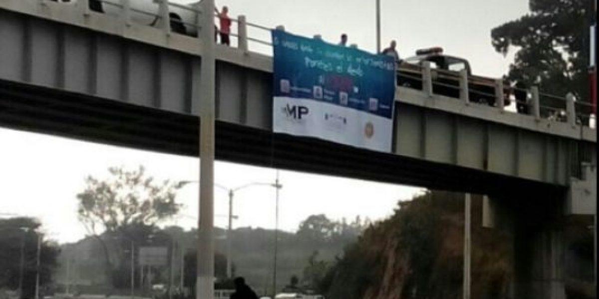 Este es el mensaje que quiere enviar el MP con el operativo #GuateEsNuestra