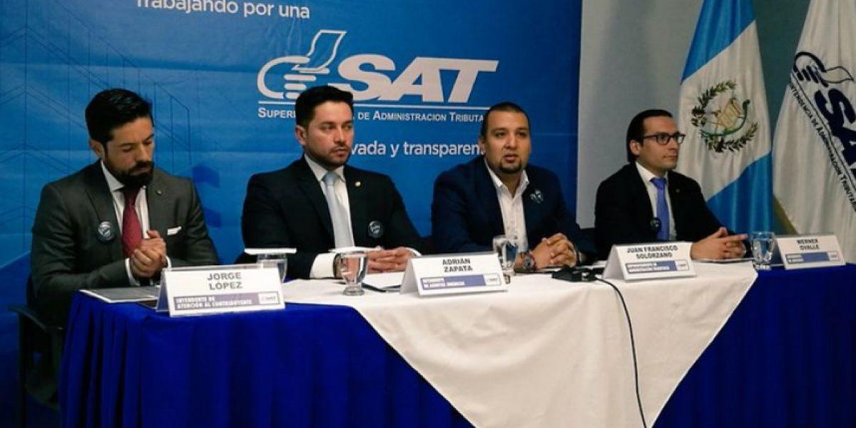 SAT tendrá que reforzar trabajo en diciembre para cerrar brecha de Q490 millones