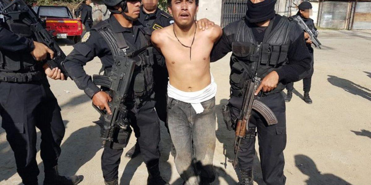 """Cae el """"Dark"""", jefe pandillero a nivel nacional señalado de asesinatos y extorsiones"""