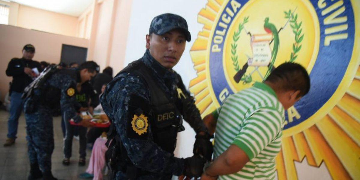 El gigantesco operativo que deja 62 detenidos #GuateEsNuestra