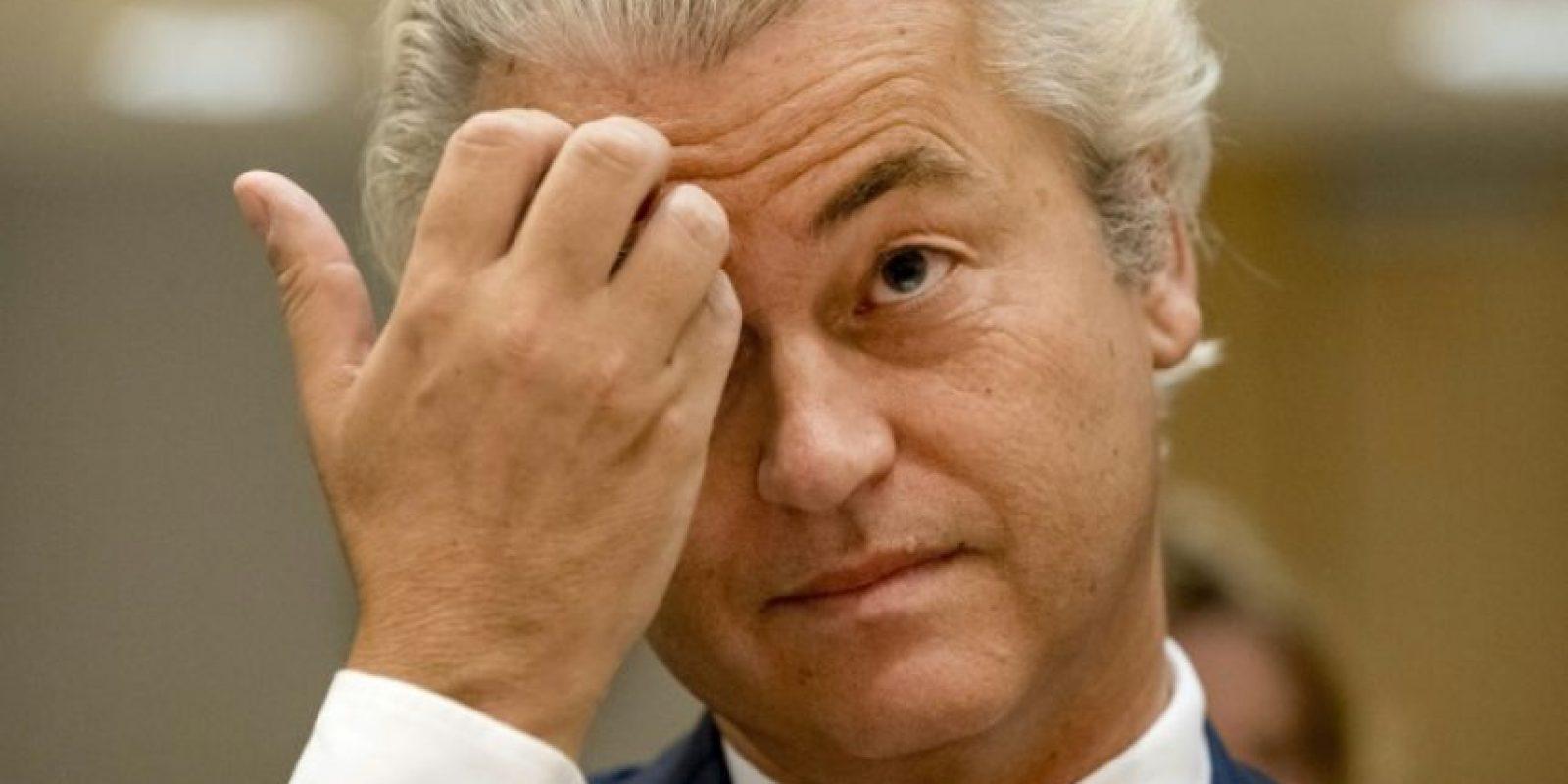 El líder del Partido por la Libertad (PVV), Geert Wilders, el 23 de septiembre de 2016 en la localidad holandesa de Badhoevedorp Foto:Remko de Waal/afp.com