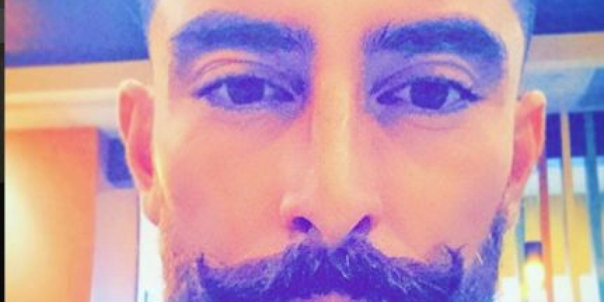 Jugador de los cremas Jean Márquez cambia de look repentinamente