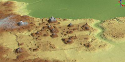 La Cuenca El Mirador en 3D. Foto:Cortesía