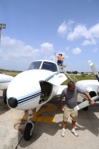 Se usó una avioneta y un radar. Foto:Cortesía