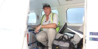arqueólogo estadounidense Richard Hansen Foto:Cortesía
