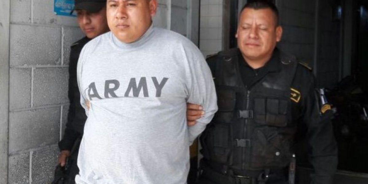"""Detienen a un peligroso pandillero considerado por los detectives como """"pez gordo"""" #GuateEsNuestra"""
