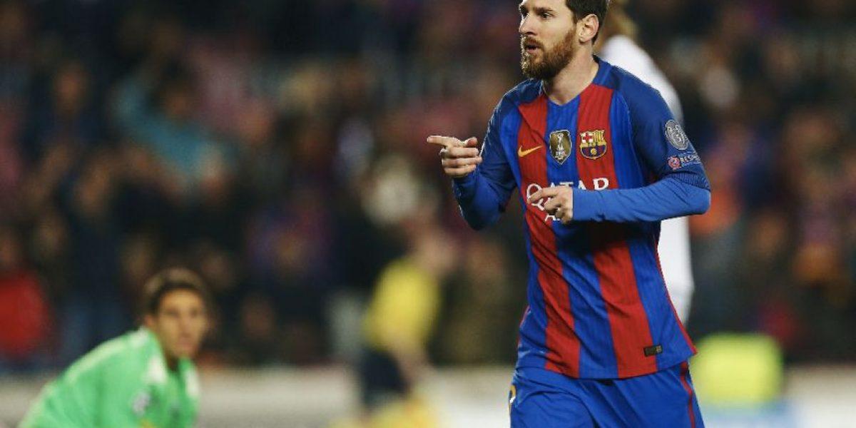 Lionel Messi negocia su renovación con el Barcelona
