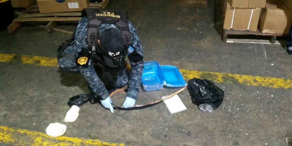 """Policía descubre """"narcocincho"""" con el que se pretendían enviar droga hacia Estados Unidos"""