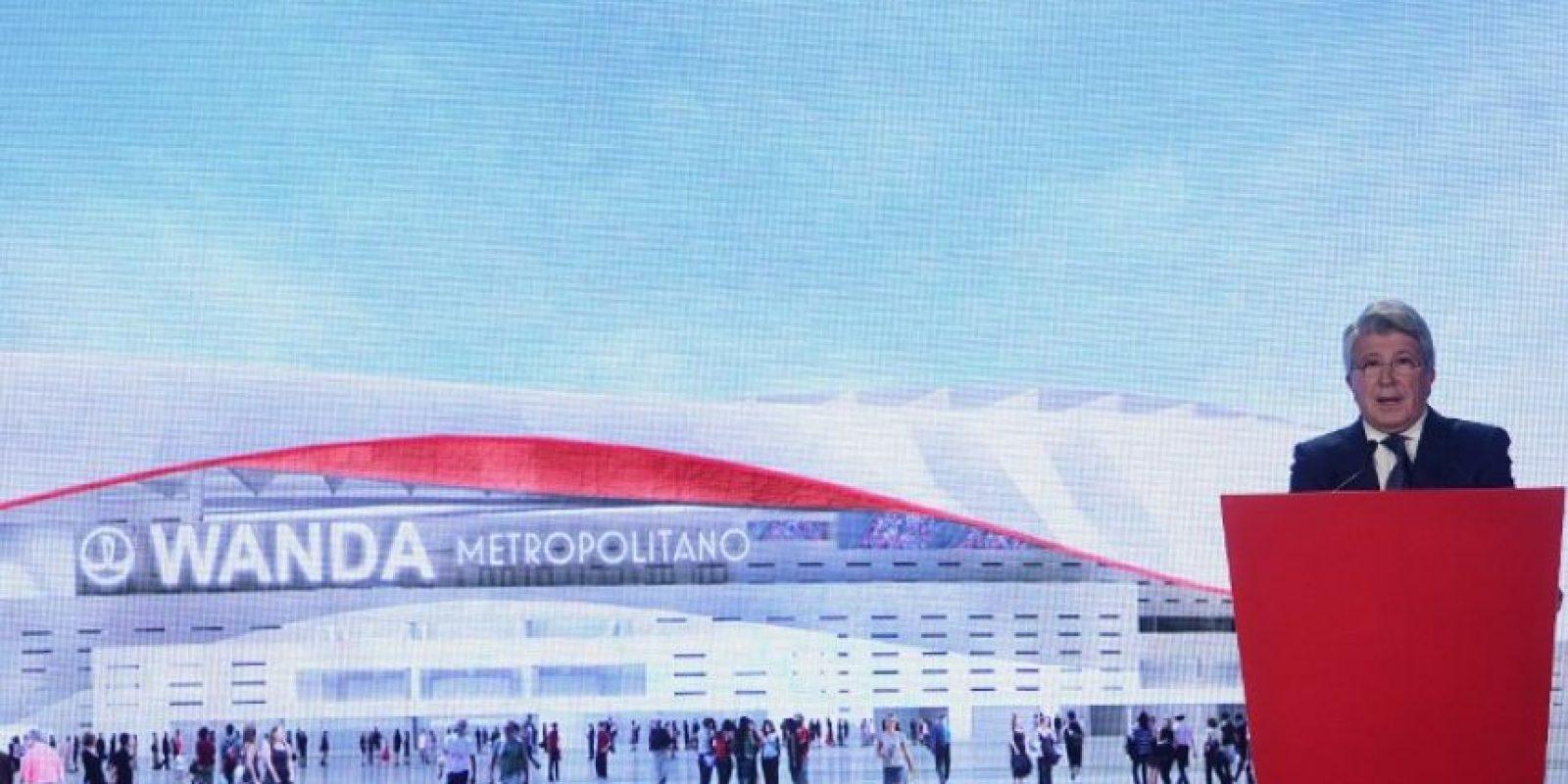 El nuevo estadio del Atlético de Madrid llevará por nombre Wanda Metropolitano. Foto:AFP