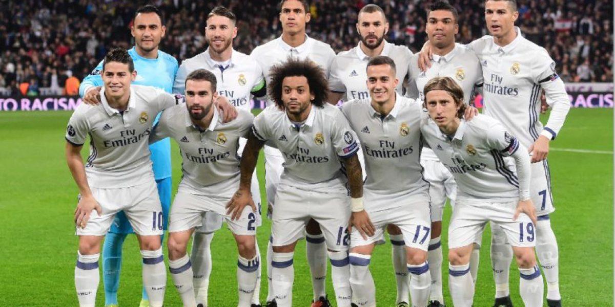 Futbolista del Real Madrid sufre asalto mientras jugaba la Champions