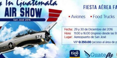 Foto:Facebook/flyinguatemala