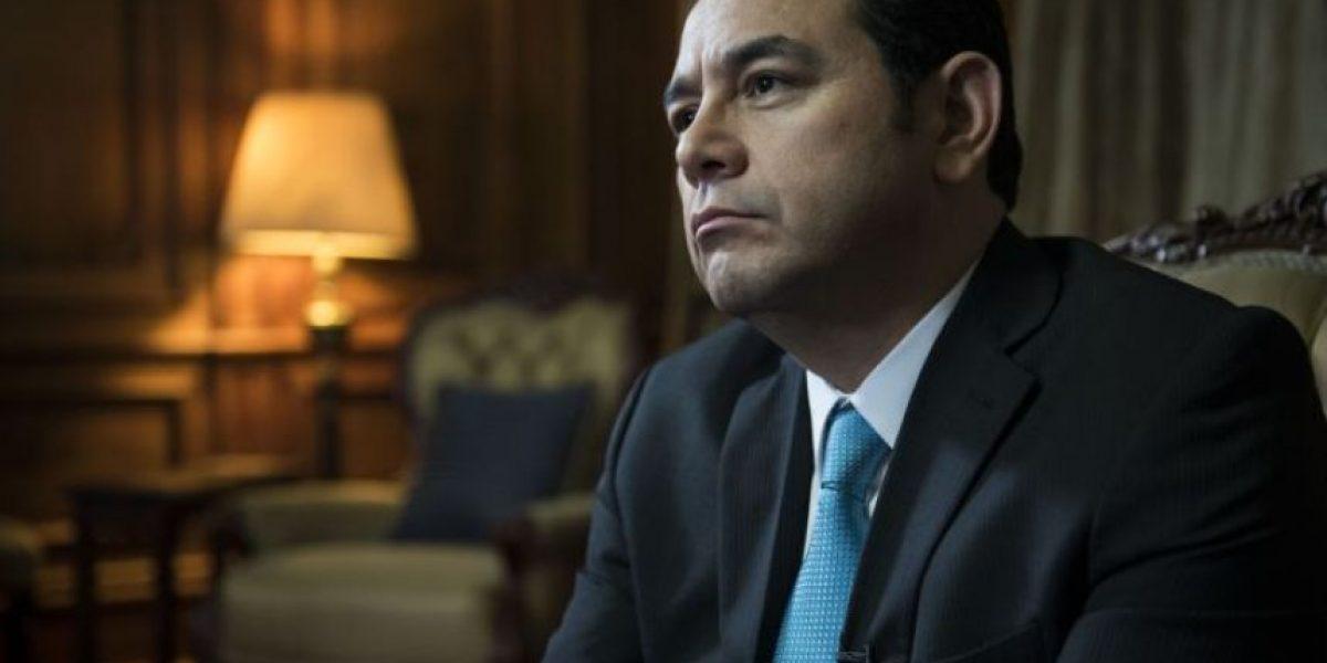 Presidente Jimmy Morales invita a denunciar la corrupción
