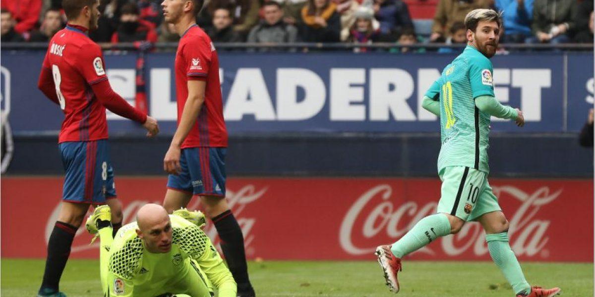 El Barcelona golea y le mete presión al Real Madrid