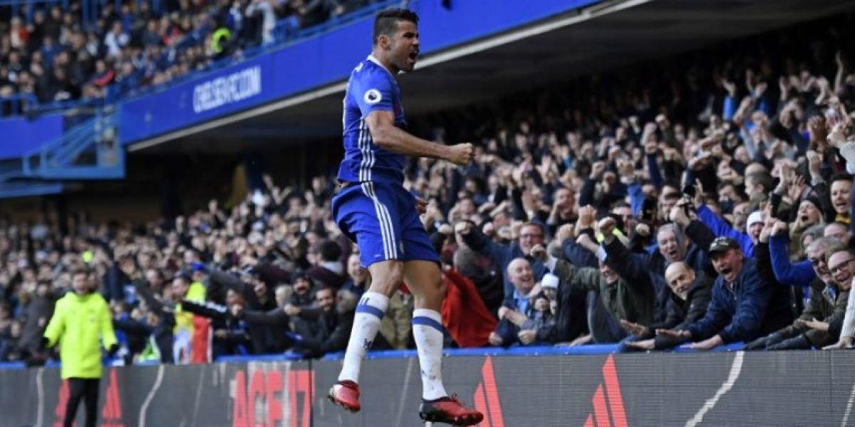 Diego Costa da al Chelsea noveno triunfo seguido y le devuelve al liderato