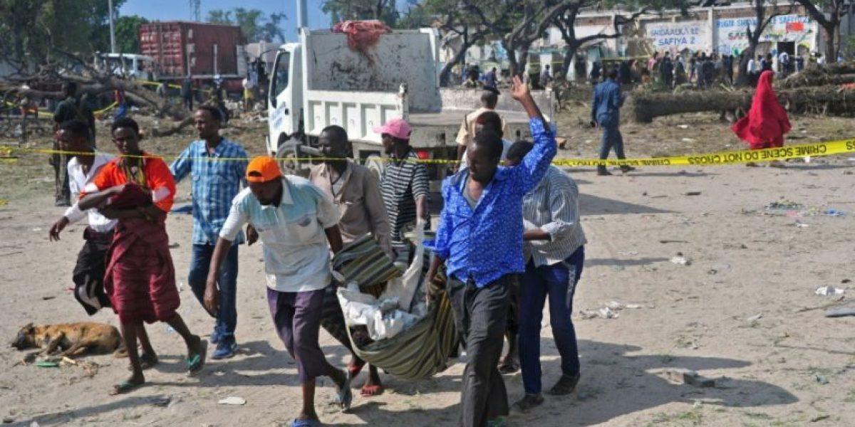 Al menos 20 muertos en un atentado suicida en Somalia