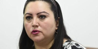 La directora en funciones, Brenda Gramajo Foto:Oliver de Ros