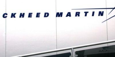 Logo de la multinacional estadounidense Lockheed Martin, especializada en la construcción de aeronaves militares, en el aeropuerto parisino de Le Bourget, el 16 de junio de 2005 Foto:Pierre Verdy/afp.com