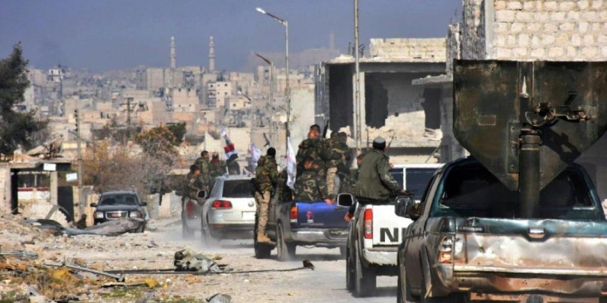Operación del régimen sirio en Alepo en