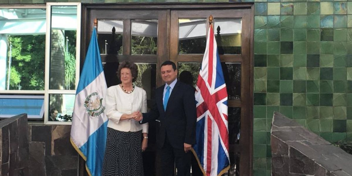 Reino Unido y  Guatemala estrechan lazos con visita de baronesa Joyce Anelay