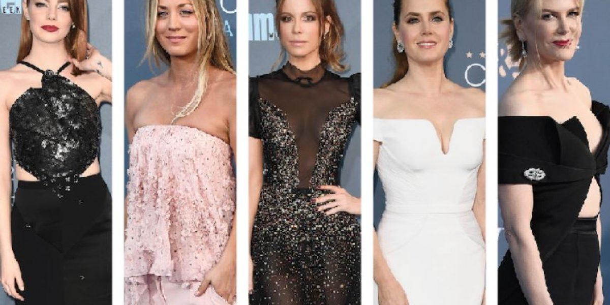 Critics' Choice Awards: Las mejor vestidas de la gala