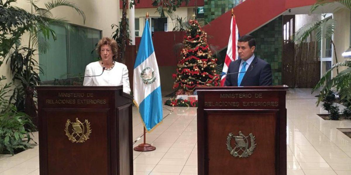 Baronesa Anelay habla de la mejor ruta que tienen Guatemala y Belice para llevar su disputa