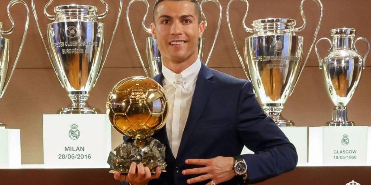 Es oficial: Cristiano Ronaldo es el ganador del Balón de Oro de 2016
