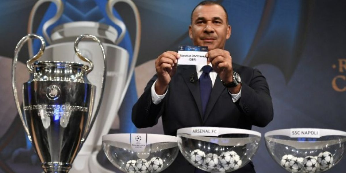 Así se jugarán los octavos de final de la Champions League