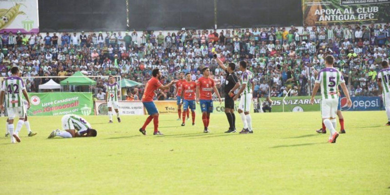 El primer capítulo de la final fue para Antigua GFC que le devolverá la vista el domingo a Municipal para el partido de vuelta. Foto:Edwin Bercián y Reina Damián
