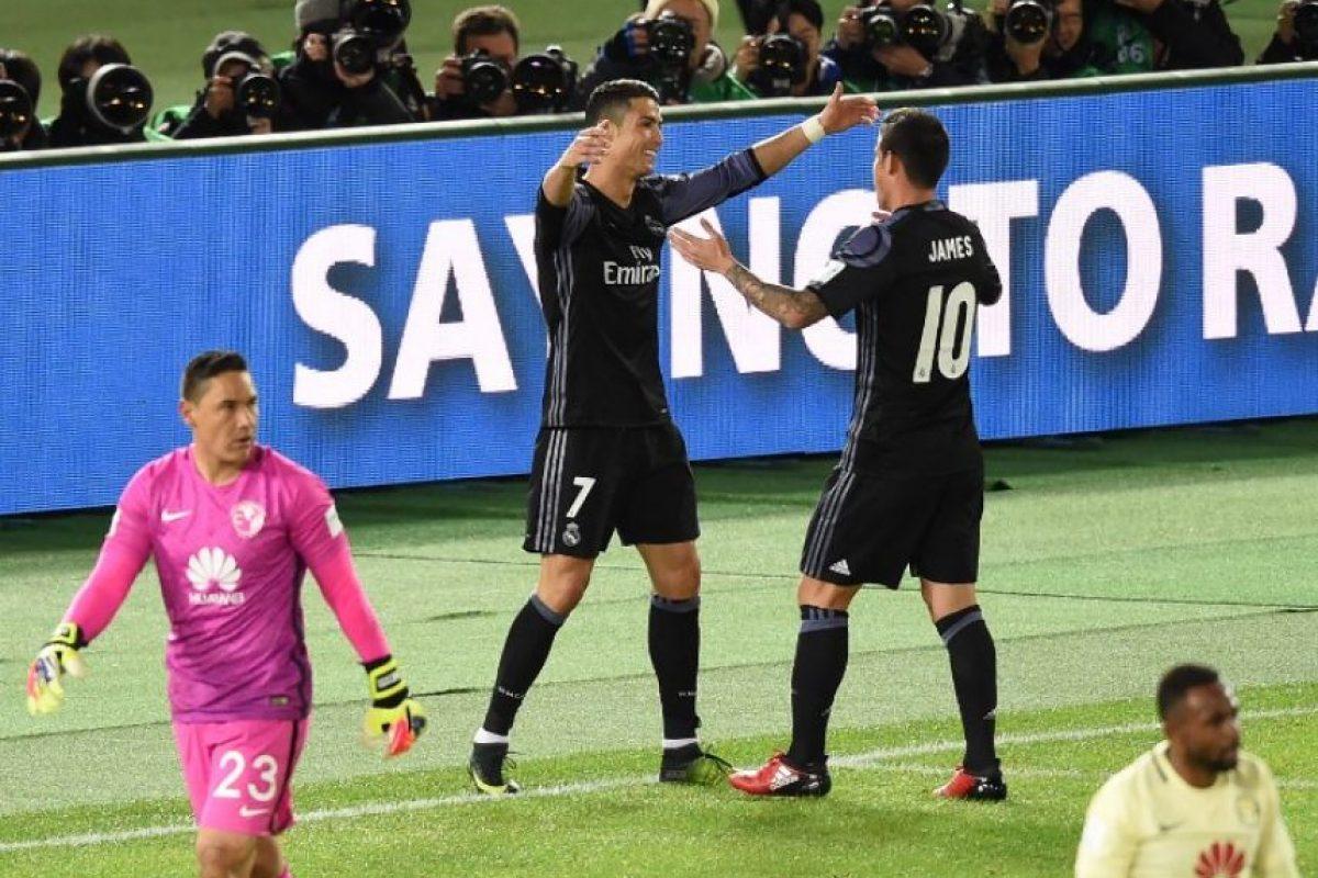 El videoarbitraje generó polémica en el segundo gol del Real Madrid. Foto:AFP