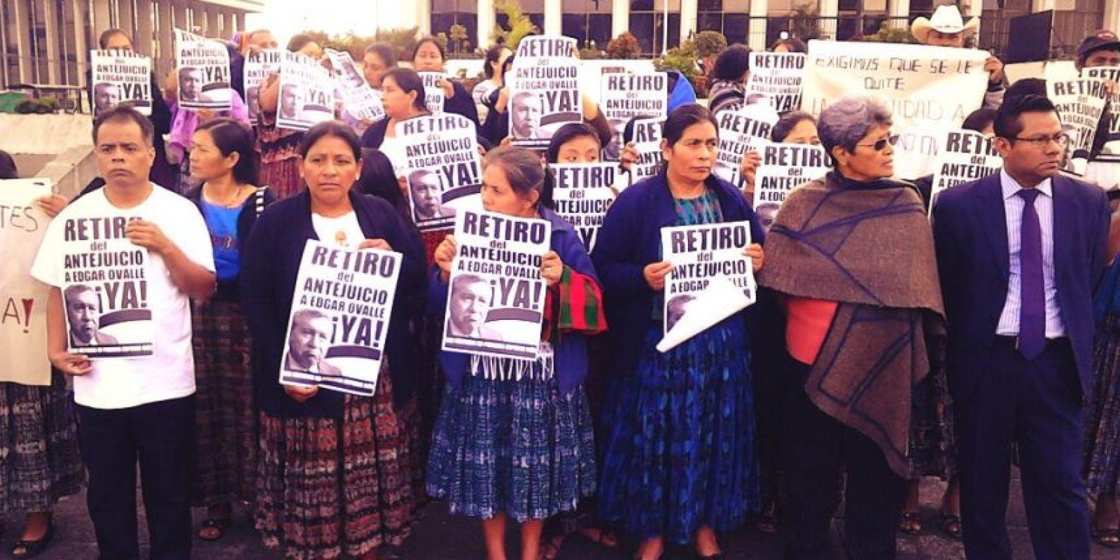 Los familares de los desaparecidos. Foto:Publinews