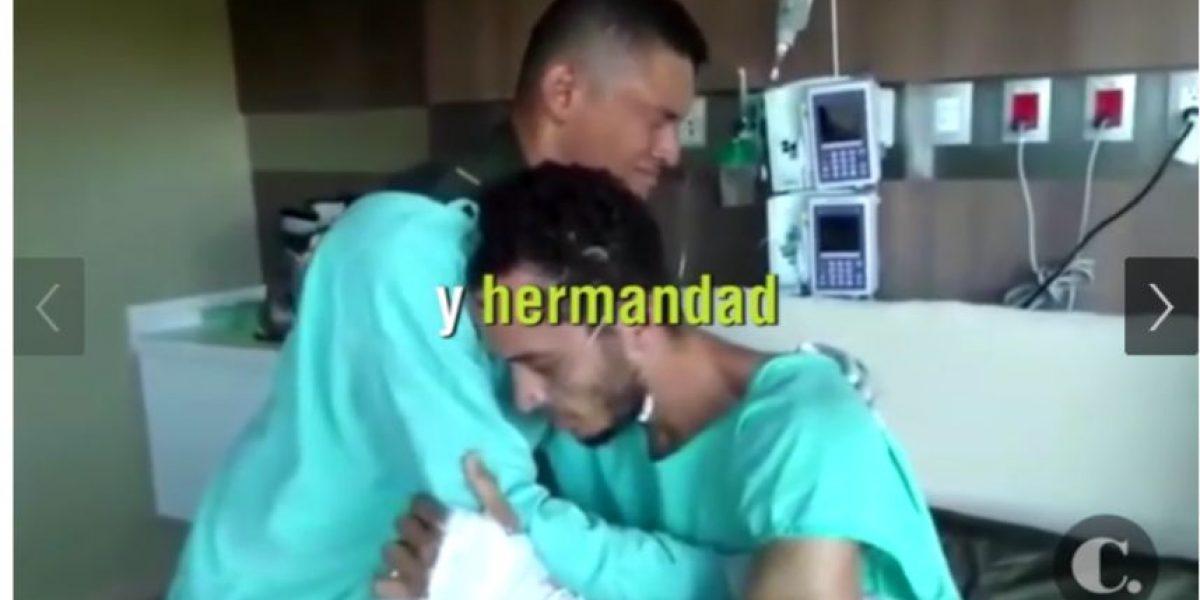 VIDEO. Desgarrador reencuentro entre sobreviviente del Chapecoense y su