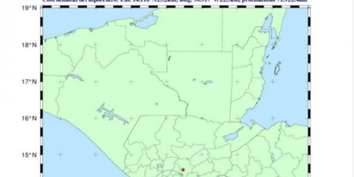 Sismo sacude centro y sur de Guatemala