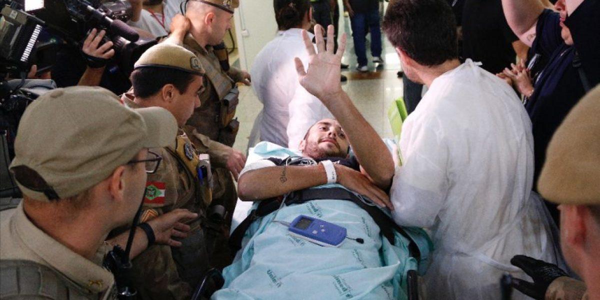 VIDEO. Ahogado en llanto sobreviviente del Chapecoense revela detalles del accidente